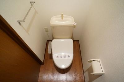 人気のバストイレ別です♪トイレが独立していると使いやすいですよね☆1階・2階両方にトイレがあるのがうれしいですよね♪