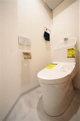 ウォッシュレットトイレ新規取替。