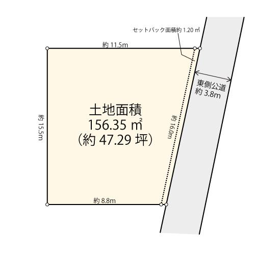 【土地図】世田谷区砧3丁目