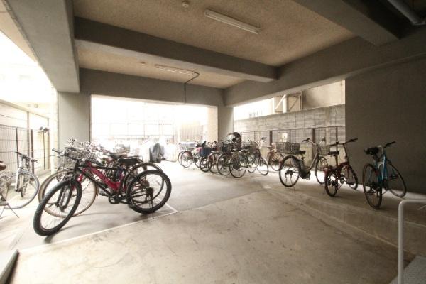 【駐輪場】ビッグヴァンベイフロント横浜