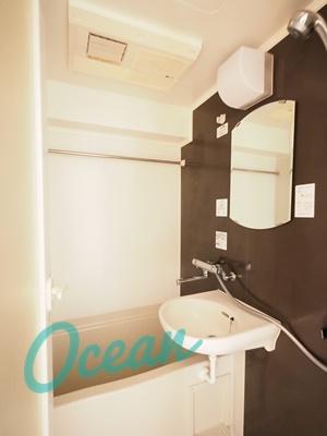 【浴室】ルーブル新宿水道町