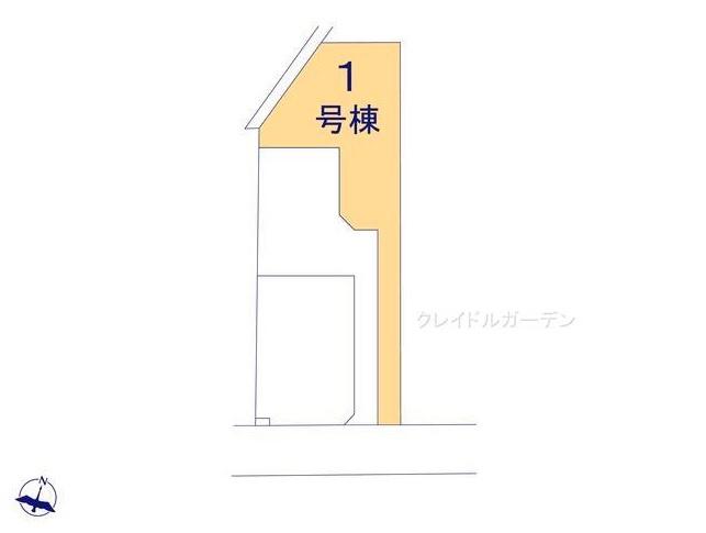 【区画図】堀町新築戸建 第10 1号棟