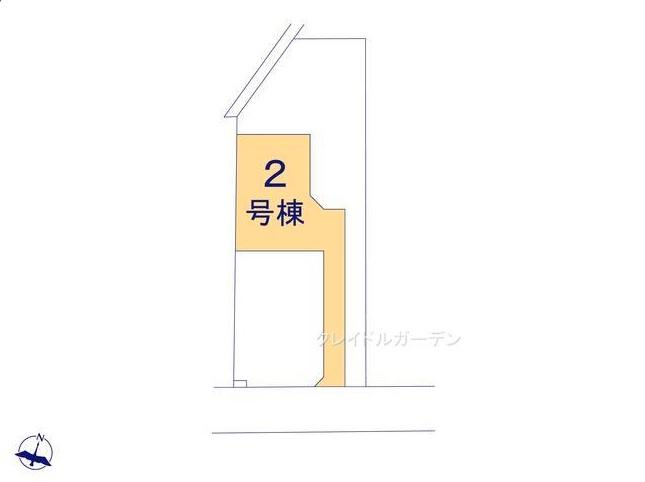 【区画図】堀町新築戸建 第10 2号棟