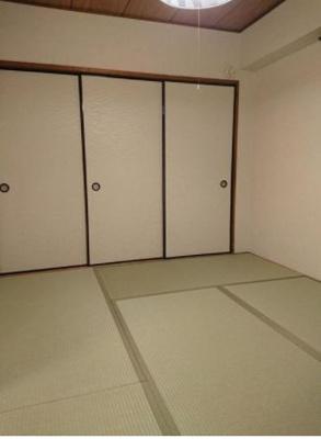 寝室やリビング、子供部屋にと、フレキシブルに利用できる和室。