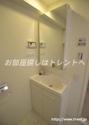 【洗面所】プレールドゥーク渋谷初台