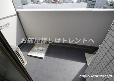 【バルコニー】プレールドゥーク渋谷初台