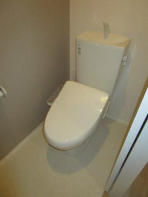 【トイレ】ヘーベルメゾン フロイデ