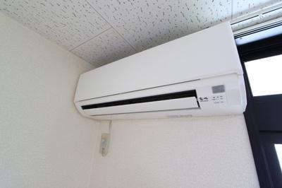 エアコンが付いています
