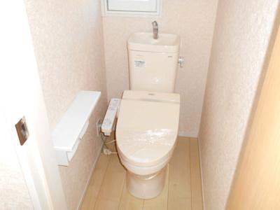 多機能型トイレ。