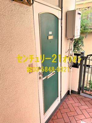 【玄関】ファランジュ中村橋(ナカムラバシ)-1F