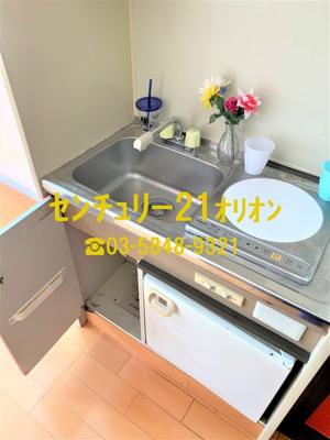【キッチン】ファランジュ中村橋(ナカムラバシ)-1F