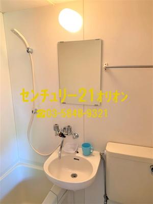 【洗面所】ファランジュ中村橋(ナカムラバシ)-1F