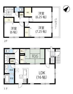 神戸市西区白水1丁目2期 新築一戸建て 2区画分譲