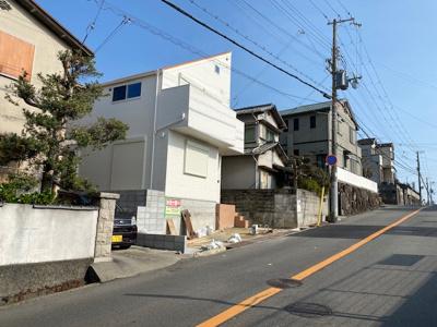 【前面道路含む現地写真】神戸市垂水区青山台4丁目