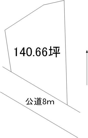 【土地図】足崎土地