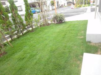 庭スペース施工例です。