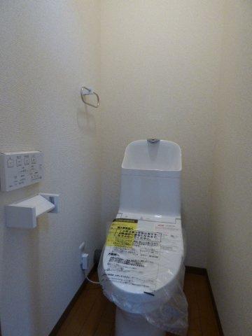 温水洗浄便座へリフォーム済。