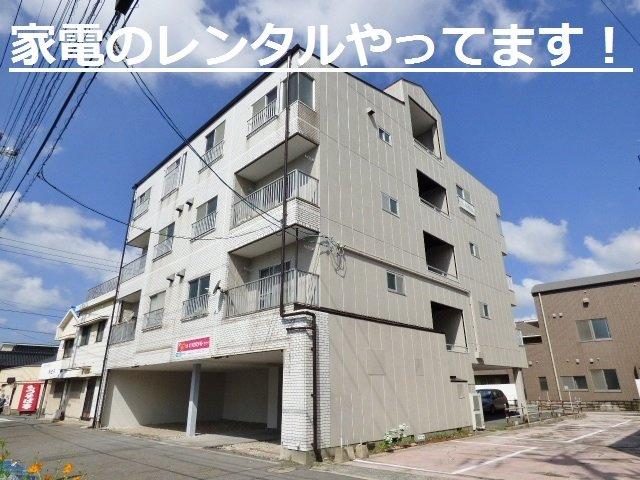 耐震性の高い鉄骨造・4階建。