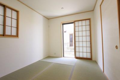 きれいな和室です:リフォーム完了済です♪平日も内覧出来ます♪八潮新築ナビで検索♪