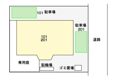 【区画図】リュエルⅡ