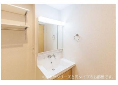 【洗面所】戸塚町アパート