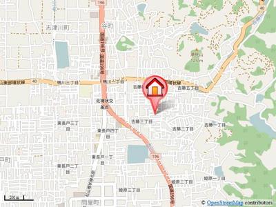 【地図】ウィステリアコート・