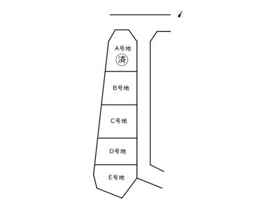 【区画図】姫路市緑台2丁目/5区画