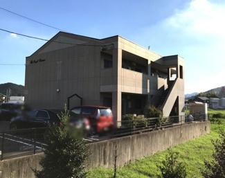 【外観】岐阜県山県市高富一棟マンション