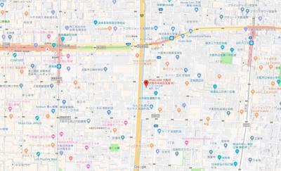 【地図】サムティ心斎橋EAST