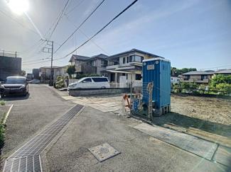 【前面道路含む現地写真】三島市谷田第7 新築戸建 全3棟 (2号棟)