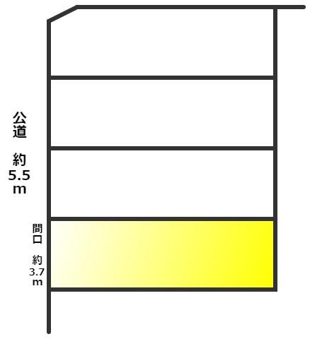 【区画図】東海市高横須賀町薮下 中古戸建