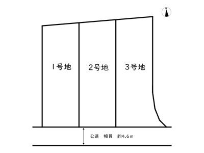 【区画図】たつの市神岡町大住寺/3区画