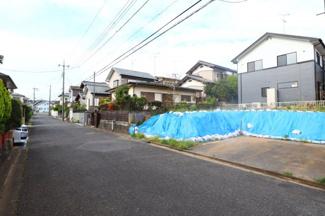 富里市久能 土地 成田駅 前面道路は広々6.0m公道です!
