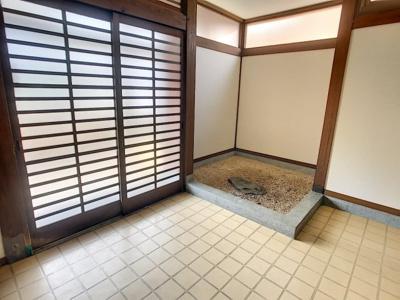 【玄関】安岡本町H邸