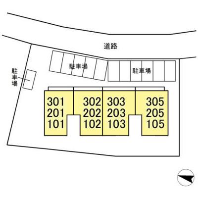 【区画図】(仮)D-room明原
