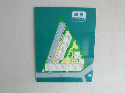 敷地内の地図です。