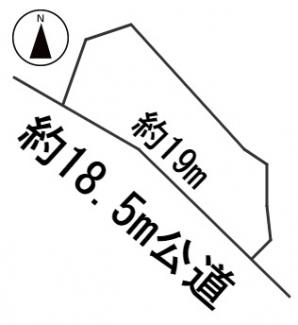 【区画図】56642 不破郡関ケ原町土地