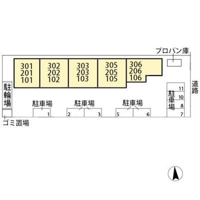 【区画図】サンパーク816