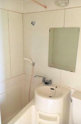 【浴室】ハウス三水