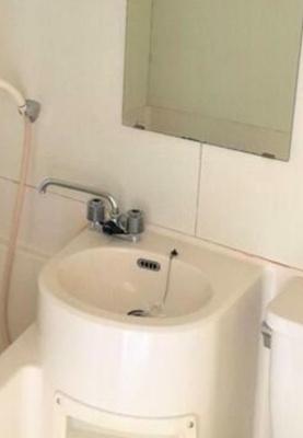 【洗面所】ハウス三水