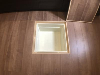 キッチン床下収納