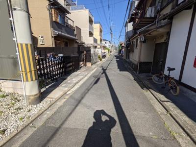 【前面道路含む現地写真】京都市上京区馬喰町