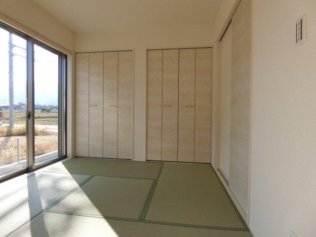 和室があるとゆったり寛いでいただけますね(^^)v