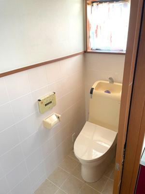 3Fトイレです。各階にトイレがあり、混みあうことがないですね。