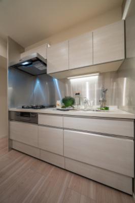 【キッチン】セザール白金ガーデン