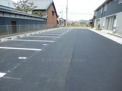 【駐車場】エクレール福井