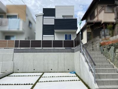 【外観】神戸市垂水区本多聞6丁目 B号地 新築戸建