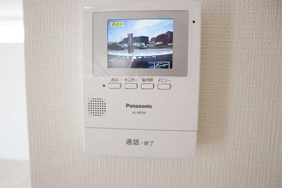 安心なTVモニタ付インタホン