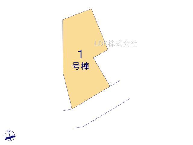 【区画図】新築戸建/富士見市西みずほ台1丁目(全1棟)