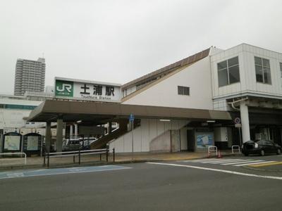 常磐線土浦駅バス所要時間15分 天川公園前バス停徒歩8分